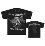 Iron Maiden Men's Back Print Tee: Sketched Trooper