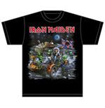 Iron Maiden Men's Tee: Knebworth Moon buggy