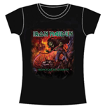 Iron Maiden Women's Skinny Fit Tee: From Fear to Eternity