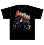 Judas Priest Men's Tee: Unleashed Version 2'