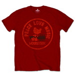 Woodstock Men's Tee: Love Peace Music