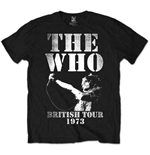 The Who Men's Tee: British Tour 1973