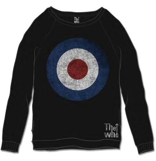 The Who Men's Sweatshirt: Target Distressed