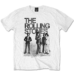 The Rolling Stones Men's Tee: Est. 1962 Group Photo