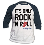 The Rolling Stones Men's Raglan/Baseball Tee: Only Rock n' Roll