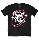 The Rolling Stones Men's Tee: Neon Lips