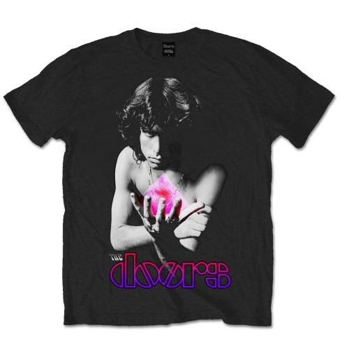 The Doors Men's Tee: Psychedelic Jim
