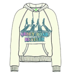 The Beatles Women's Hooded Top: Abbey Road Spray