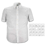 The Beatles Men's Formal Shirt: Hard Days Night Pattern