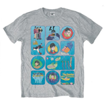 The Beatles Men's Tee: Sub Montage
