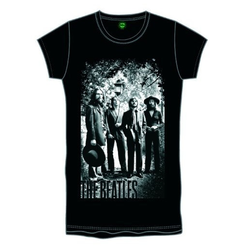 The Beatles Women's Foiled Tee: Tittenhurst Lampost