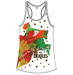 The Beatles Women's Vest Tee: Lucy in the Sky