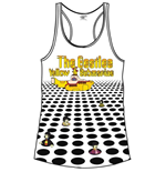 The Beatles Women's Vest Tee: Sea of Holes & Logo