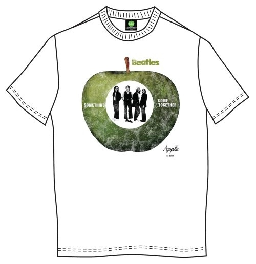 The Beatles Men's Tee: Something/Come Together