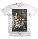 Star Wars Men's Tee: Three Droids