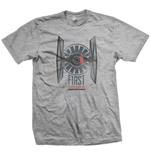 Star Wars Men's Tee: First order distress