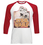 Star Wars Men's Raglan/Baseball Tee: Storm Troopers