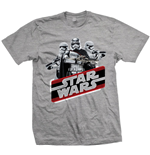 Star Wars Men's Tee: Episode VII Phasma