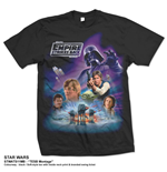 Star Wars Men's Tee: TESB Montage