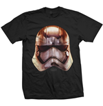 Star Wars Men's Tee: Phasma Big Head