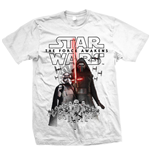 Star Wars Men's Tee: Episode VII New Villains