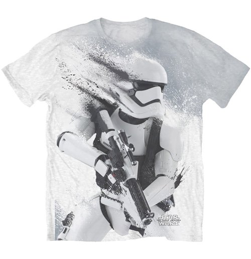 Star Wars Men's Sublimation Tee: Storm Trooper