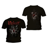 Slipknot Men's Back Print Tee: Shattered