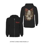 Slipknot Men's Hooded Top: Skull Teeth