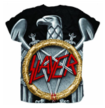 Slayer Men's Sublimation Tee: Silver Eagle