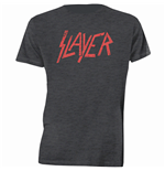 Slayer Men's Tee: Distressed Logo