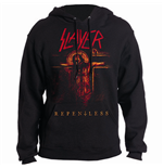 Slayer Men's Hooded Top: Repentless Crucifix