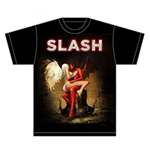 Slash Men's Tee: Angel