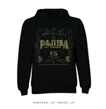 Pantera Men's Hooded Top: 101' Proof