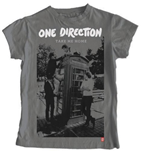 One Direction Women's Skinny Fit Tee: Take me Home- Album