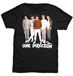 One Direction Women's Skinny Fit Tee: New Standing