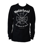 Motorhead Men's Long Sleeved Tee: Iron Cross