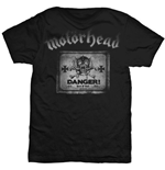 Motorhead Men's Tee: Danger