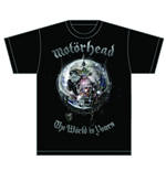 Motorhead Men's Tee: The World is your Album