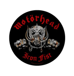 Motorhead Back Patch: Iron Fist