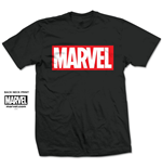 Marvel Comics Men's Tee: Marvel Box Logo