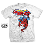 Marvel Comics Men's Tee: Spider Man Stamp