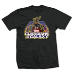 Marvel Comics Men's Tee: Guardians of the Galaxy Group Logo (Large)