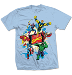 Marvel Comics Men's Tee: Marvel Montage 4.