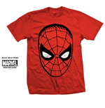 Marvel Comics Men's Tee: Spider Man Big Head