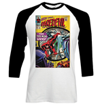 Marvel Comics Men's Raglan/Baseball Tee: Dare-devil Comic
