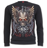 Maced Skull - Heavy Pique Sweat Shirt