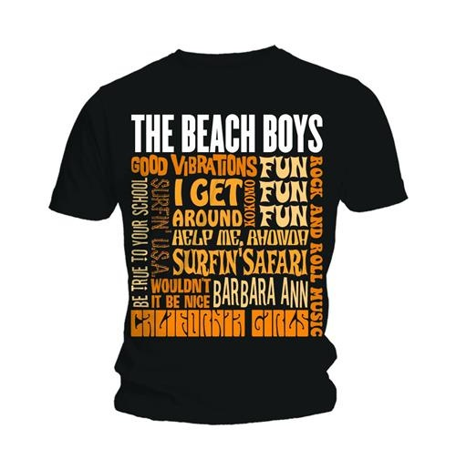 The Beach Boys Men's Vest Tee: Best of SS