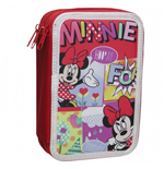 Minnie Mouse (CP) pencil case triple filled