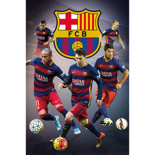 F.C. Barcelona Poster Players 21