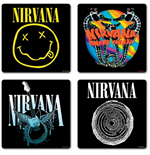 Nirvana Set Of 4 Coasters